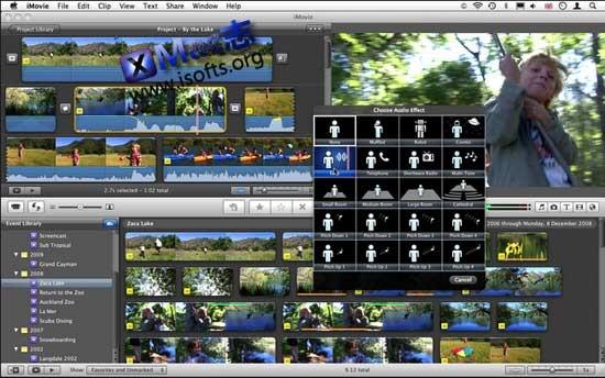 [Mac]iMovie : 视频剪辑软件