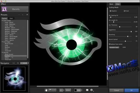 [Mac]眼睛糖果滤镜工具 : Alien Skin Eye Candy