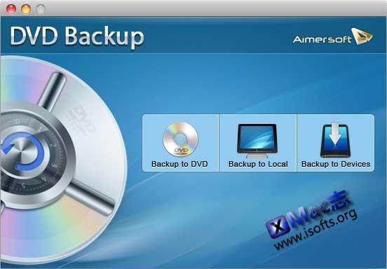 [Mac]DVD复制备份工具 : Aimersoft DVD Backup