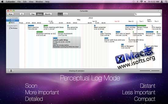 [Mac]GTD任务管理工具 : Caliander