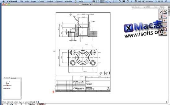 [Mac]CAD绘图软件 : CADintosh X