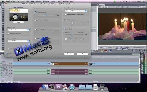 [Mac]视频防抖处理插件 : Mercalli