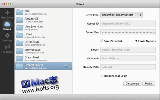 [Mac]远程服务器连接工具 : ExpanDrive