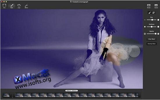 [Mac]专业的图像特效处理工具 : Cinemagraph Pro