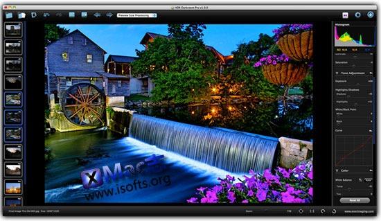 [Mac]全功能HDR软件 : HDR Darkroom