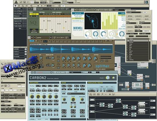[Mac]模块化工作室 : Native Instruments Reaktor