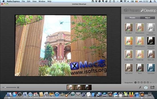 [Mac]高品质的HDR照片处理工具 : Hydra Pro