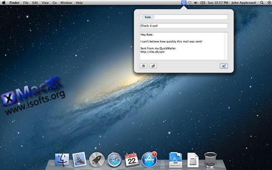 [Mac]菜单栏的快速邮件客户端 : QuickMailer