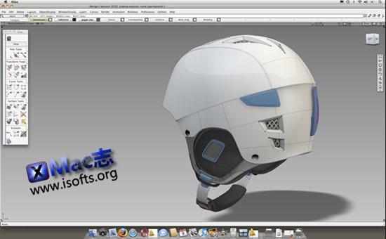 [Mac]Autodesk Alias Design : 工业设计和消费产品三维设计软件