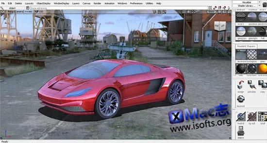 [Mac]Autodesk Alias Automotive : 汽车设计和造型应用软件