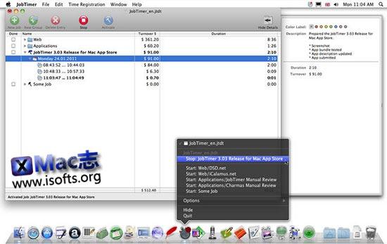 [Mac]个人计划及时间管理工具 : JobTimer