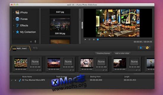 [Mac]图像幻灯片制作工具 : iFunia Photo Slideshow