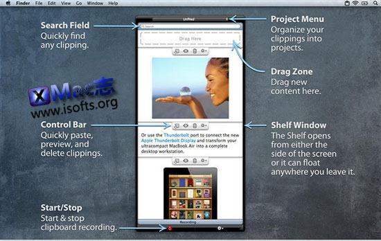 [Mac]强大的剪贴板工具 : iClipboard