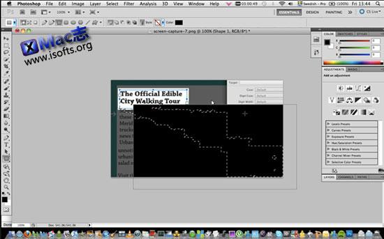 Photoshop CC for Mac : 最受欢迎的最专业的图像编辑处理工具