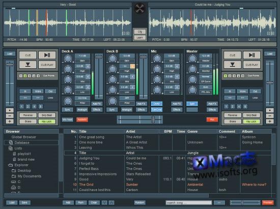 [Mac]专业的DJ混音软件 : Future Decks DJ Pro