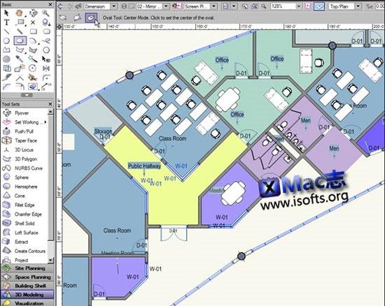 [Mac]强大的建筑设计软件 : Vectorworks