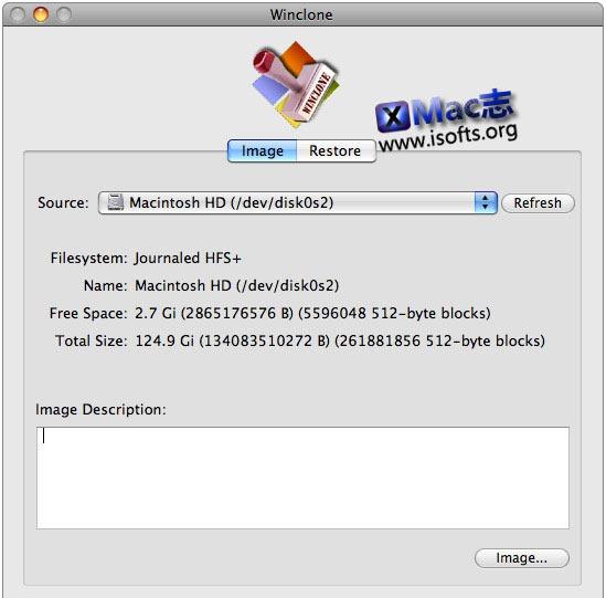[Mac]Bootcamp的windows系统分区备份还原工具 : Winclone