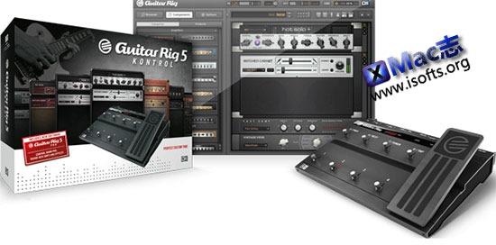 [Mac]电吉它效果器 : Guitar Rig Pro