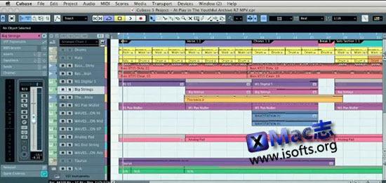 [Mac]全功能数字音乐及音频工作软件 : Cubase AI