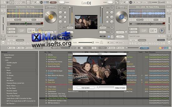 [Mac]专业的DJ打碟工具 : CuteDJ