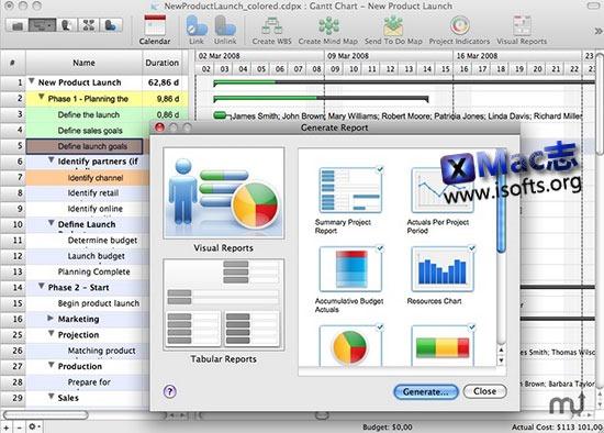 [Mac]流程图、思维导图、项目管理工具: ConceptDraw Office