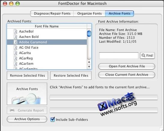 [Mac]系统字体诊断修复工具 : FontDoctor