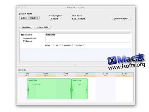 [Mac]项目时间跟踪管理工具 : accountability