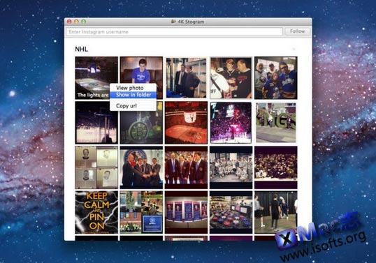 [Mac]Instagram照片批量下载工具 : 4K Stogram