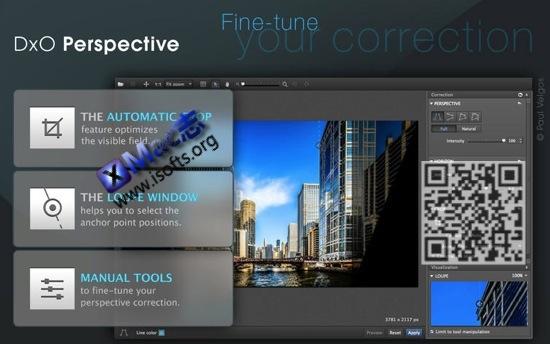 [Mac]图像处理工具 : DxO Perspective