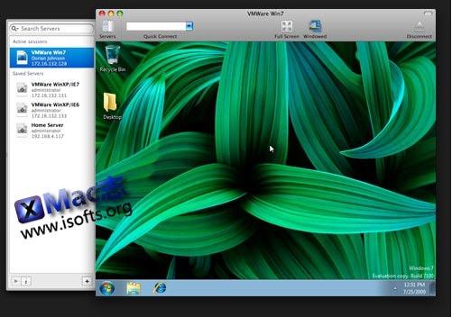 [Mac]RDP远程控制客户端 : CoRD