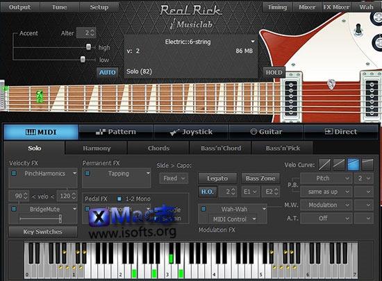 [Mac]虚拟吉他插件 : MusicLab RealRick