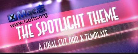 [Mac]Pixel Film Studios – The Spotlight(FCPX聚光灯效果模板)