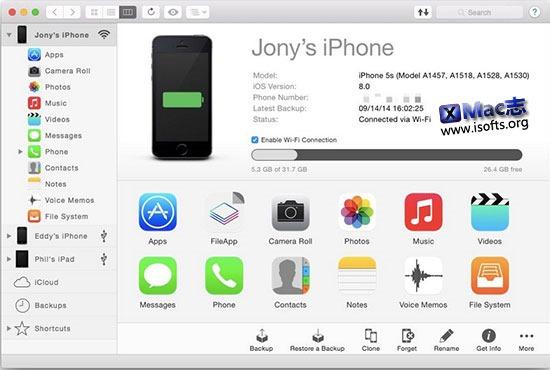 [Mac]好用的 iOS 设备管理工具 : iMazing