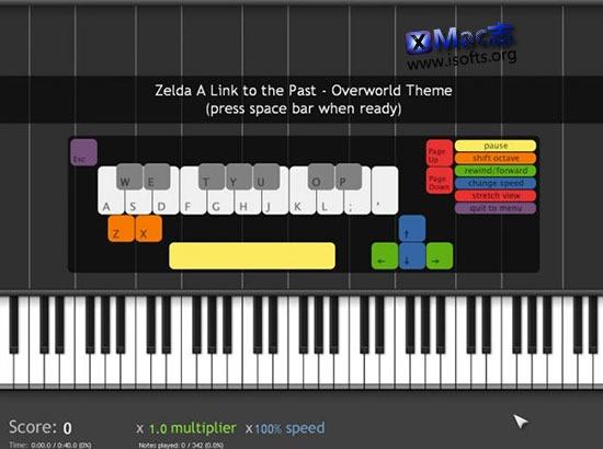 [Mac]钢琴模拟软件 : Synthesia