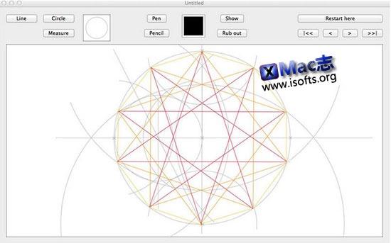 [Mac]几何图形绘制软件 : Geometrix