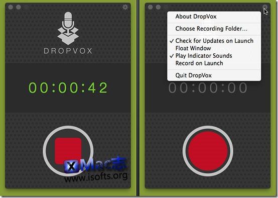 [Mac]轻巧便携的录音软件 : DropVox