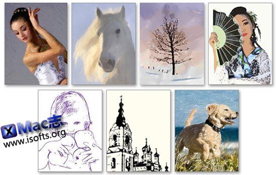 [Mac]将照片转换成油画/漫画/水彩画等艺术画 : AKVIS ArtWork