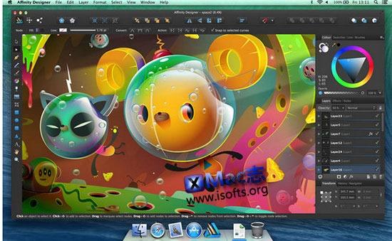 [Mac]矢量插画工具 : Affinity Designer
