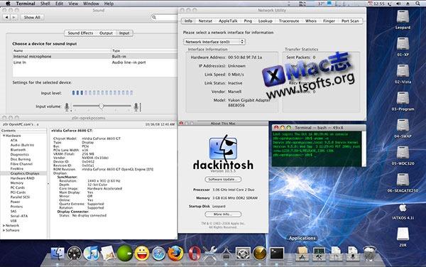 [Mac]黑苹果整合版安装镜像 :iAtkos