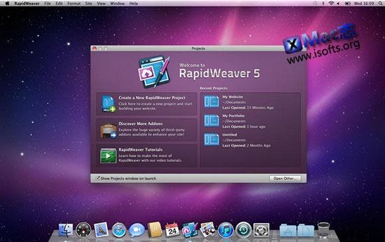 [Mac]网页制作软件 : Rapidweaver