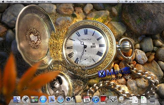 [Mac]3D复古怀表动态壁纸 : The Lost Watch 3D