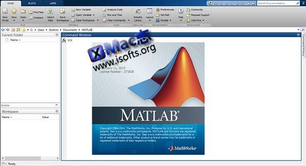 [Mac]科学计算语言 : MathWorks MATLAB