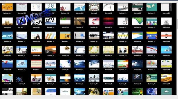 [Mac]Keynote演示稿模板模板套件 : Template Design for Keynote