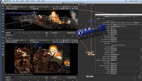 [Mac]Nuke散景插件 : Labs Bokeh for Nuke