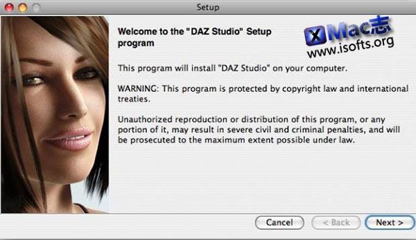 [Mac]3D造型应用软件 :DAZ Studio