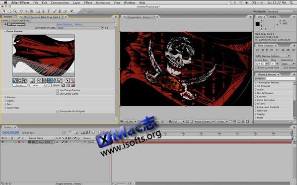 [Mac]AE三维立体文字插件:Zaxwerks 3D Invigorator Pro