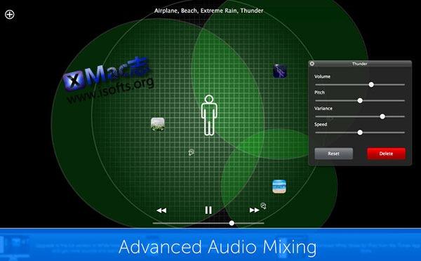 [Mac]白噪音音频催眠器 : White Noise