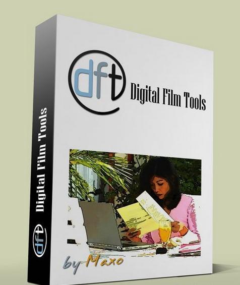 [Mac]高端数字电影特效插件 : Digital Film Tools Bundle