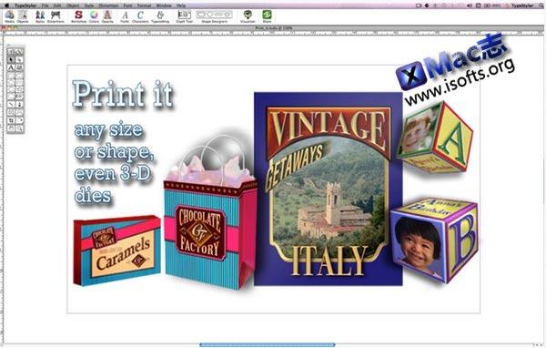 [Mac]页面布局和图形设计工具 : TypeStyler