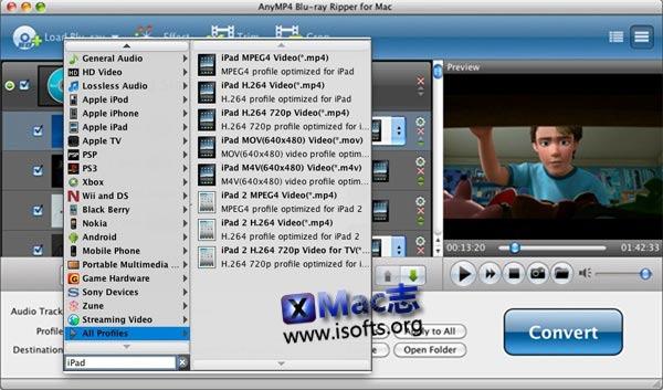 [Mac]蓝光视频格式转换工具 : AnyMP4 Blu-ray Ripper for Mac